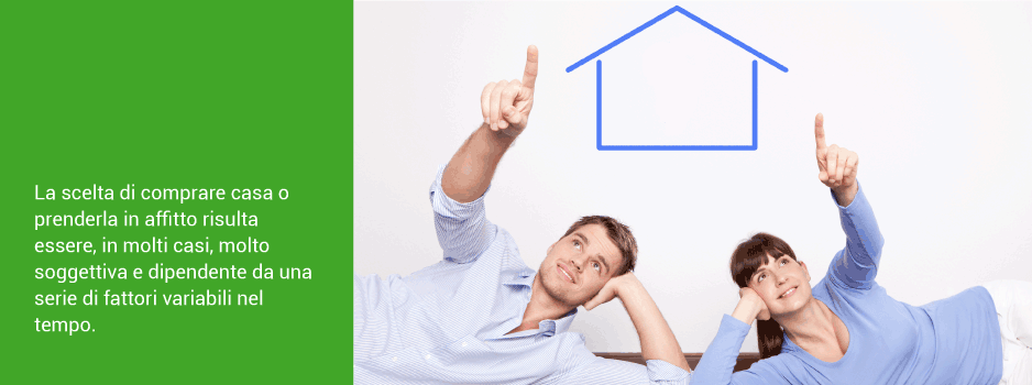 Comprare casa o affittare casa?