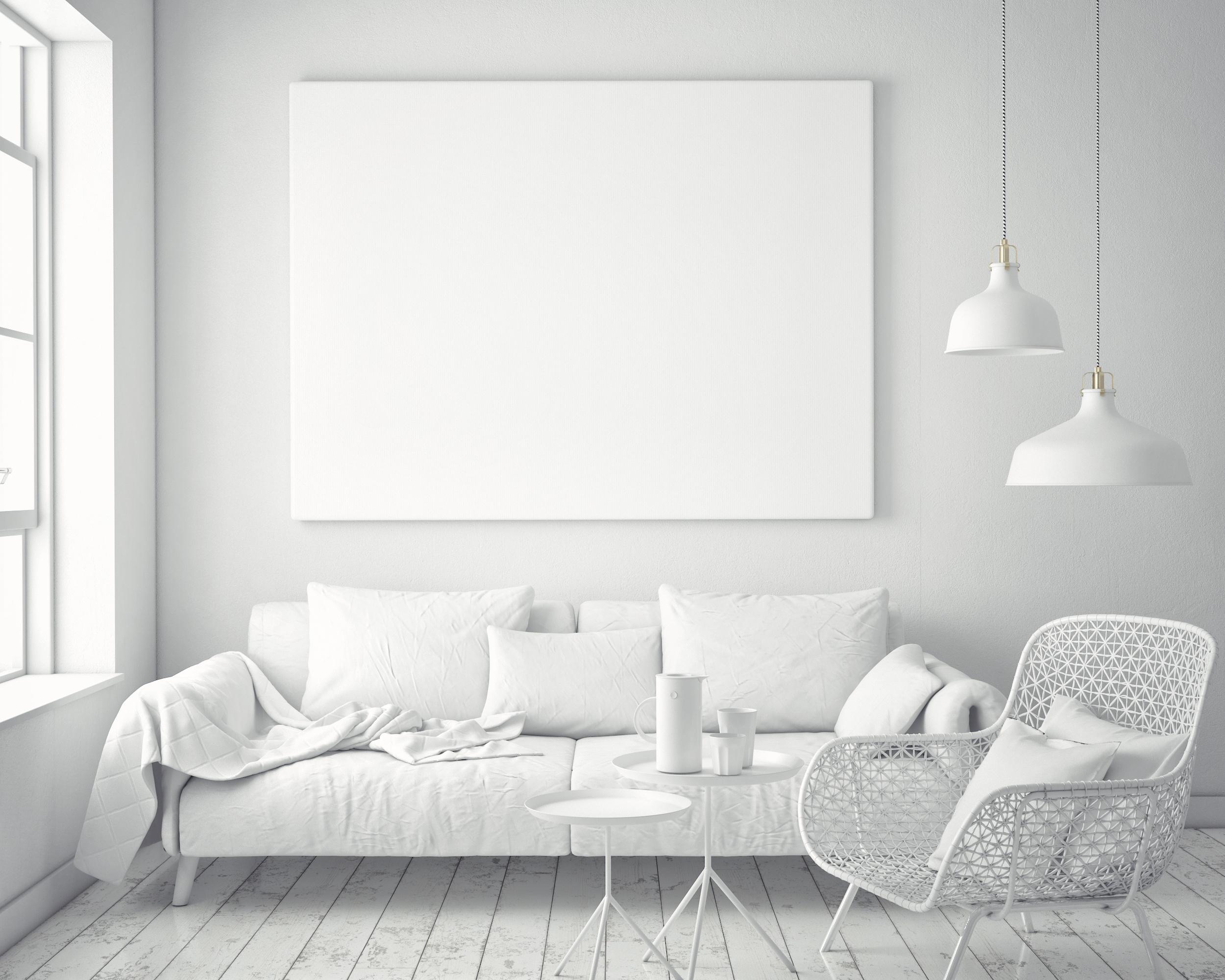 spazi piccoli bianco