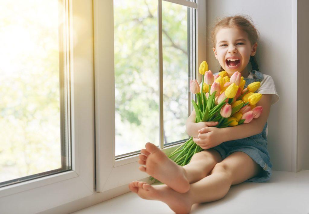fiori casa bambini