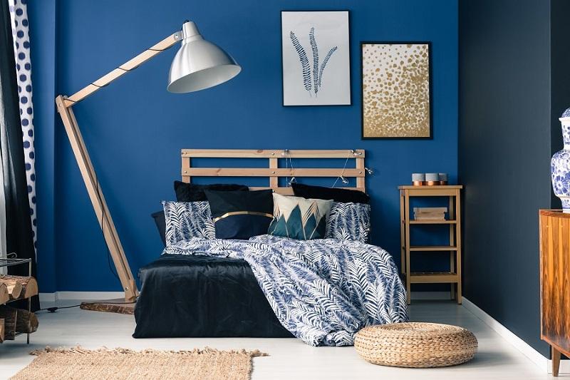 abbinamento dei colori monocromatico blu