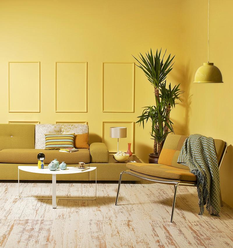 abbinamento dei colori monocromatico giallo