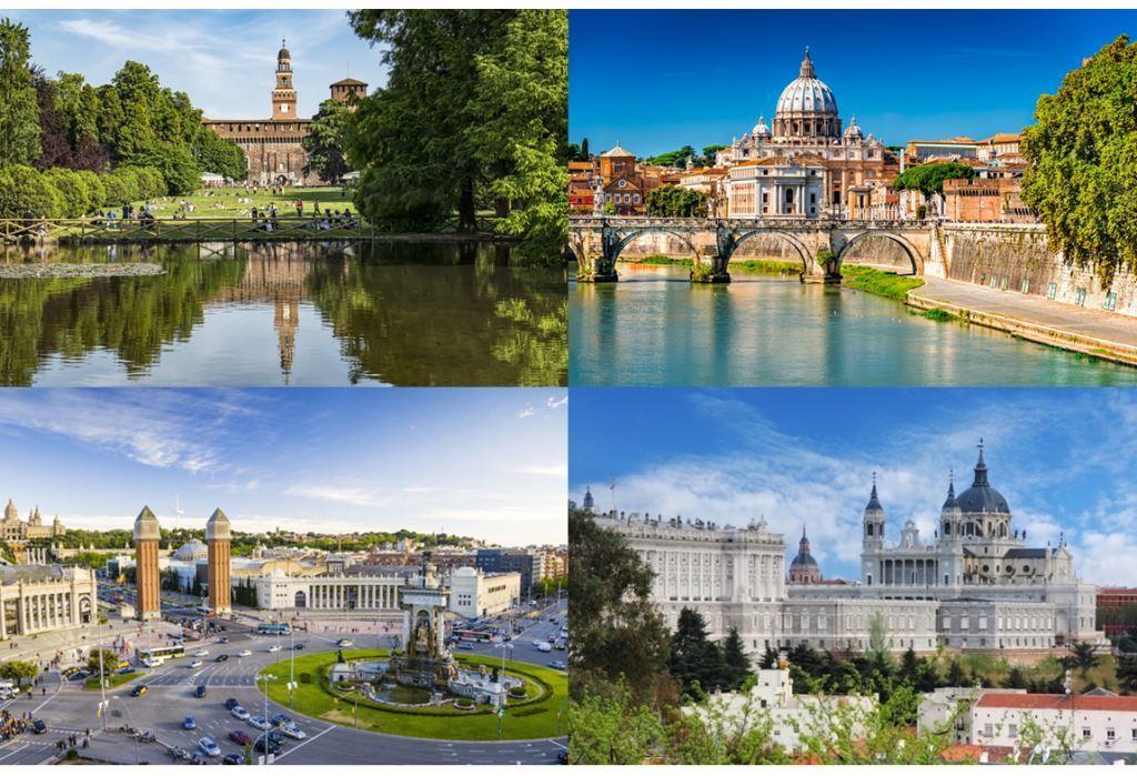 ITALIA-SPAGNA: mercato immobiliare in ripresa per entrambe le Nazioni