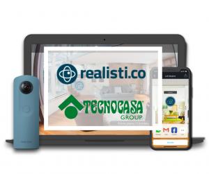 Tecnocasa punta su benessere e sicurezza con la visita virtuale di Realisti.co